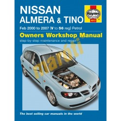 Nissan Almera & Tino Petrol (Feb 00 - 07) V to 56