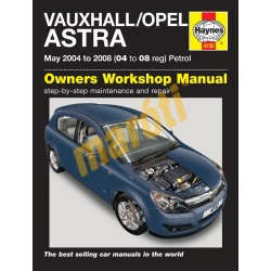Vauxhall/Opel Astra H Petrol (May 04 - 08) 04 to 08