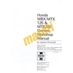 Honda MBX/MTX125 & MTX200 (1983 - 1993)