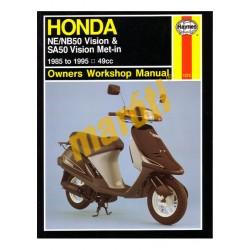 Honda NE/NB50 Vision & SA50 Vision Met-in (1985 - 1995)