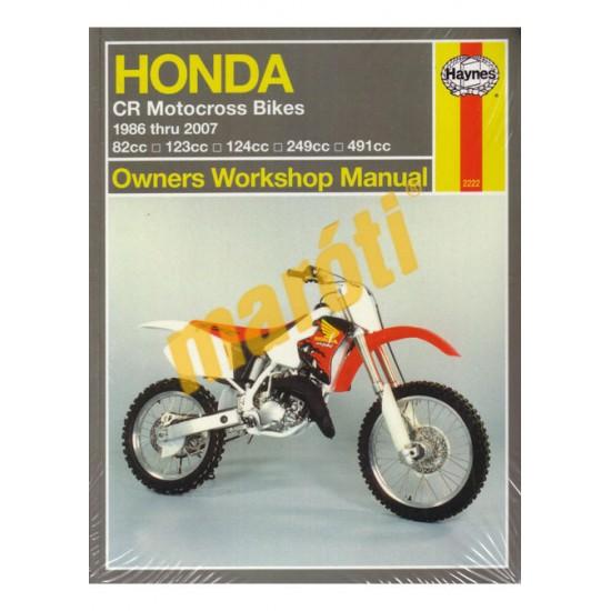 Honda CR Motocross Bikes (1986 - 2007)