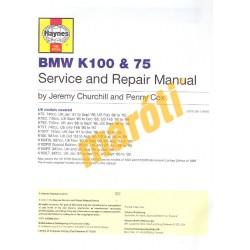 BMW K100 & 75 2-valve Models (1983 - 1996)