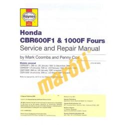 Honda CBR600F1 & 1000F Fours (1987 - 1996)