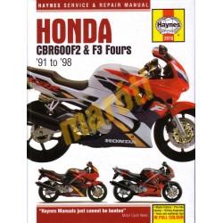Honda CBR600F2 & F3 Fours (1991 - 1998)
