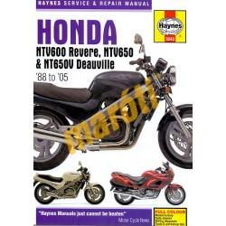 Honda NTV600 Revere, NTV650 and NT650V Deauville (1988 - 2005)