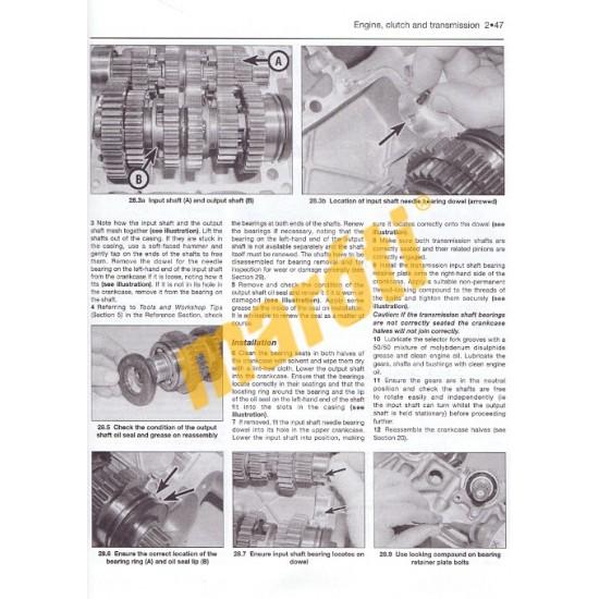 Honda CB 500 (93-02), CBF 500 (03-08)