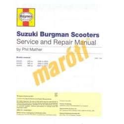 Suzuki Burgman 250, 400 (1998 - 11)