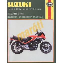 Suzuki GS/GSX550 4-valve Fours (1983 - 1988)