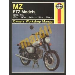 MZ ETZ Models (1981 - 1995)