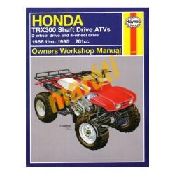 Honda TRX300 Shaft Drive ATVs 1988-1995
