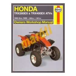 Honda TRX300EX, TRX400EX ATVs (1993 - 1999)