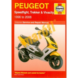 Peugeot Speedfight, Trekker & Vivacity Scooters (1996 - 08)