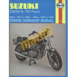 Suzuki GS550 (1977 - 1982) & GS750 Fours (1976 - 1979)