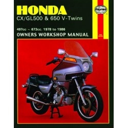 Honda CX/GL500 & 650 V-Twins (1978 - 1986)