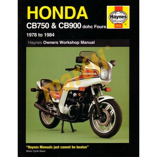 Honda CB750 & CB900 dohc Fours(1978 - 1984)