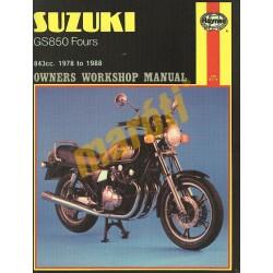 Suzuki GS850 Fours (1978 - 1988)
