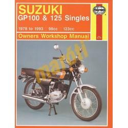 Suzuki GP100 & 125 Singles (1978 - 1993)