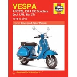 Vespa P/PX125, 150 & 200 Scooters (1978 - 09)