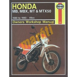 Honda MB, MBX, MT & MTX50 (1980 - 1993)