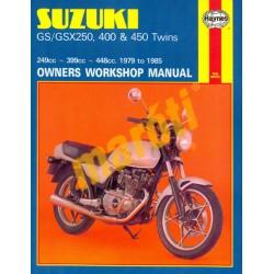 Suzuki GS/GSX250, 400 & 450 Twins (1979 - 1985)
