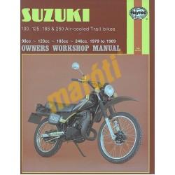 Suzuki 100, 125, 185 & 250 Air-cooled Trail bikes (1979 - 1989)