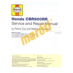 Honda CBR900RR FireBlade (1992 - 1999)