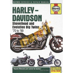 Harley-Davidson Shovelhead and Evolution Big Twins (1970 - 1999)