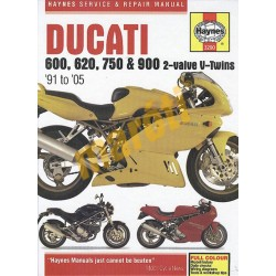 Ducati 600, 620, 750 and 900 2-valve V-Twins (1991 - 05)
