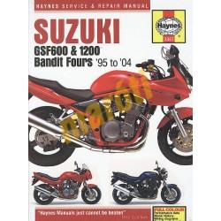 Suzuki GSF600, 650 & 1200 Bandit Fours (1995 - 06)