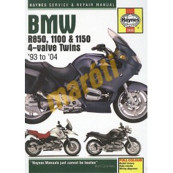 BMW R850, 1100 & 1150 4-Valve Twins(1993 - 06)