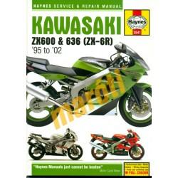 Kawasaki ZX600 & 636 (ZX-6R) (1995 - 02)