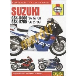 Suzuki GSX-R600 & 750 (1996 - 00)
