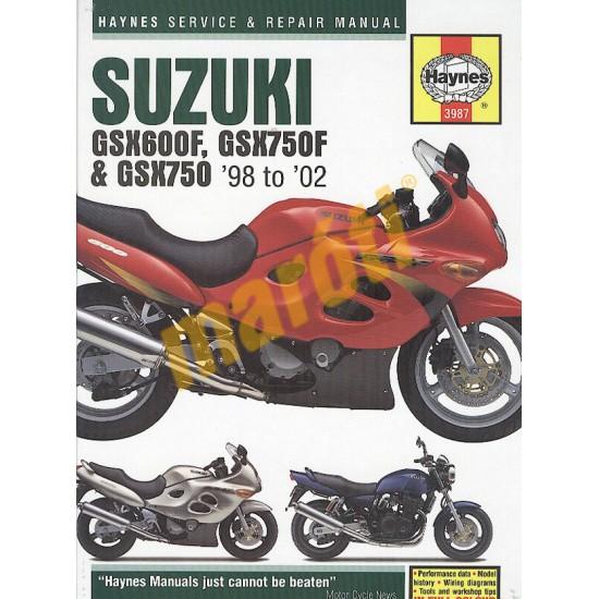 Suzuki GSX600/750F & GSX750 (1998 - 02)