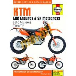 KTM EXC Enduros & SX Motocross (00 - 07)