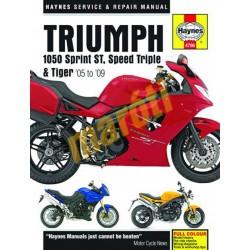 Triumph 1050 Sprint ST, Speed Triple & Tiger (05 - 13)