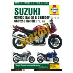 Suzuki GSF650 Bandit & GSX650F (07 - 08), GSF1250 Bandit (07 - 09)