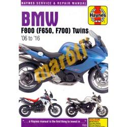 BMW F800 (F650, F700) Twins (06 - 16)
