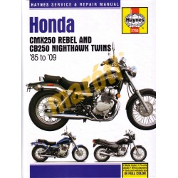 Honda CMX250 Rebel and CB250 Nighthawk Twins (1985 - 2009)