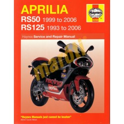 Aprilia RS50 (1999 - 2006) & RS125 (1993 - 2006)