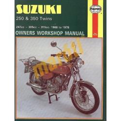 Suzuki 250 & 350 Twins (1968 - 1978)
