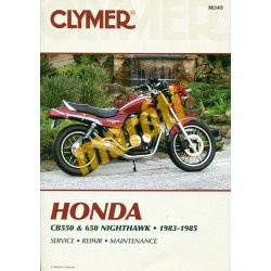 Honda CB550 & 650 Nighthawk (1983-1985)