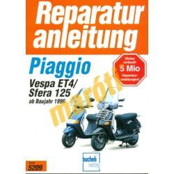 Piaggio Vespa ET4, Sfera 125 (ab 1996)