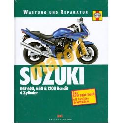 Suzuki GSF 600,650 & 1200 Bandit, 4 Zylinder