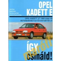 Opel Kadett E 1984-től benzines (Javítási kézikönyv)