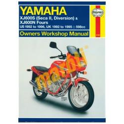Yamaha XJ600S (Seca II, Diversion) & XJ600N Fours 1992 - 1996
