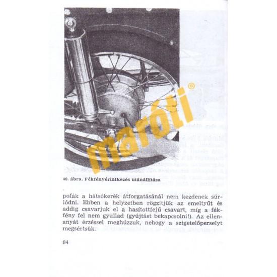 MZ ES 125/1 és ES 150/1 - Kezelési útmutató
