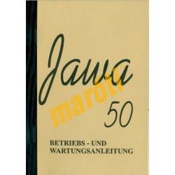 Jawa 50 kezelési könyve