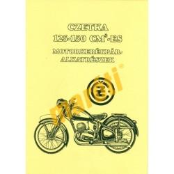 Czetka 125-150 ccm - Motorkerékpár alkatrészek