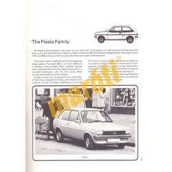 Ford Fiesta Owner's handbook
