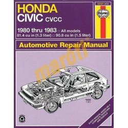 Honda Civic 1300 and 1500 CVCC 1980-1983